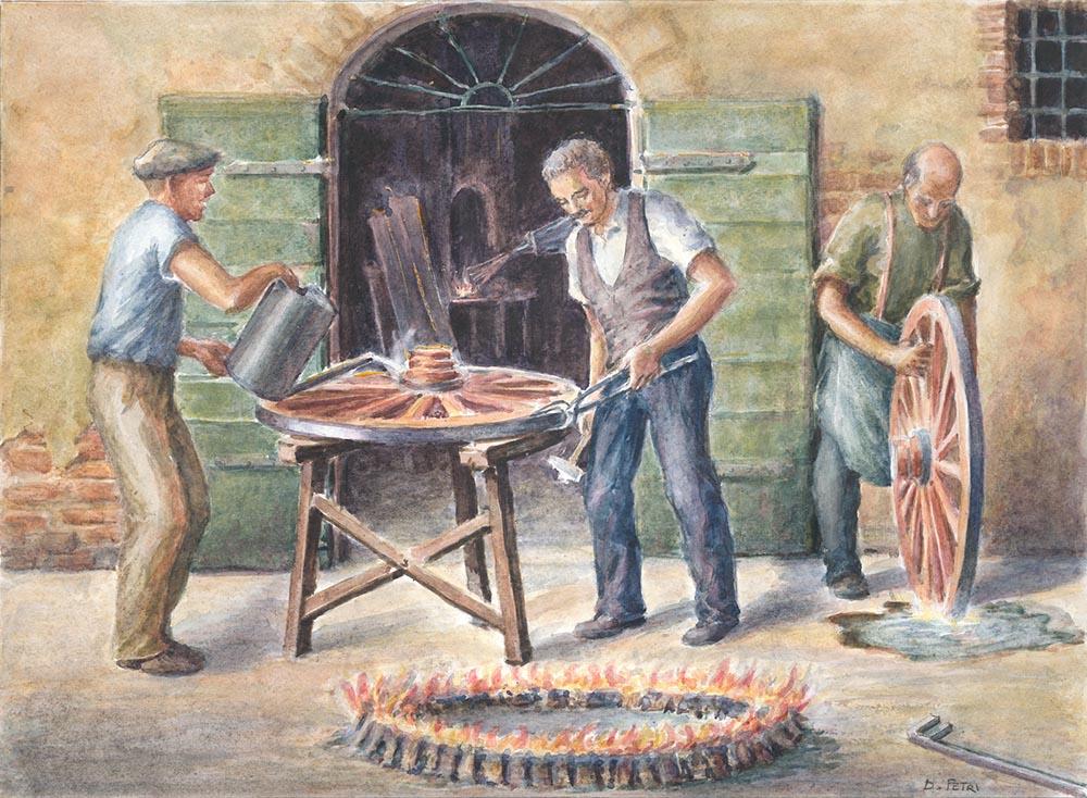 I mestieri d una volta a scansano attraverso le opere di dino petri maremma magazine - Tavole maree castiglione della pescaia ...