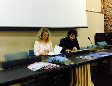 Roberta Pieraccioli e Giulio Detti