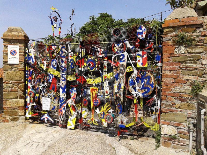 Andar per giardini d arte contemporanea in maremma - Arte e giardino ...